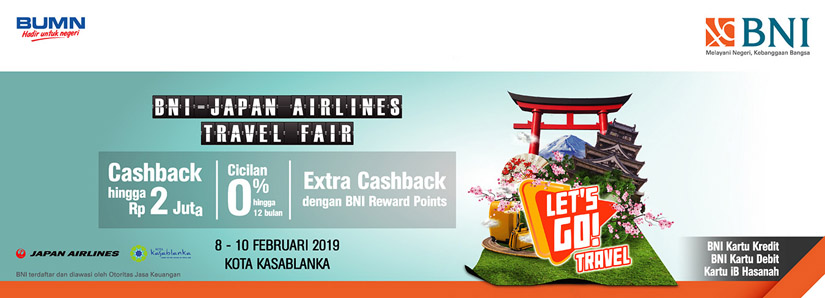 BNI Japan Airlines Travel Fair