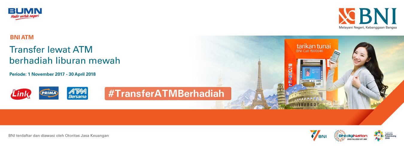 Transfer Lewat ATM Berhadiah Berhadiah Liburan Mewah