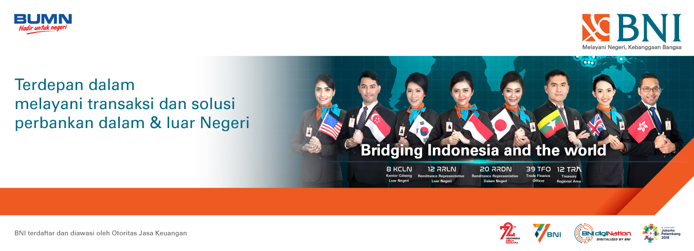BNI Bridging Indonesia and the World