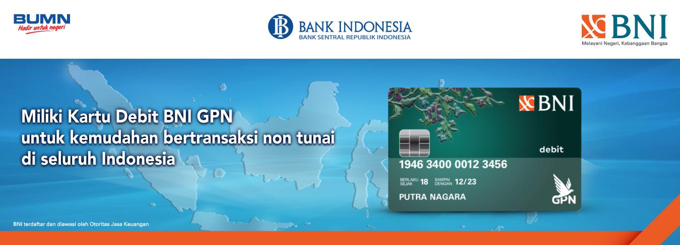 Kartu Debit BNI GPN