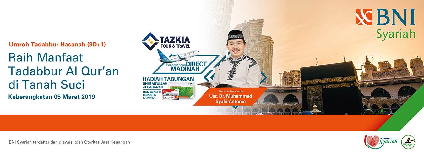 Promo Umroh Tadabur Hasanah
