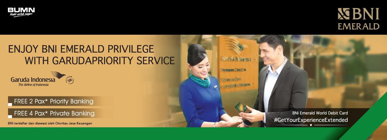 BNI Garuda Priority Service