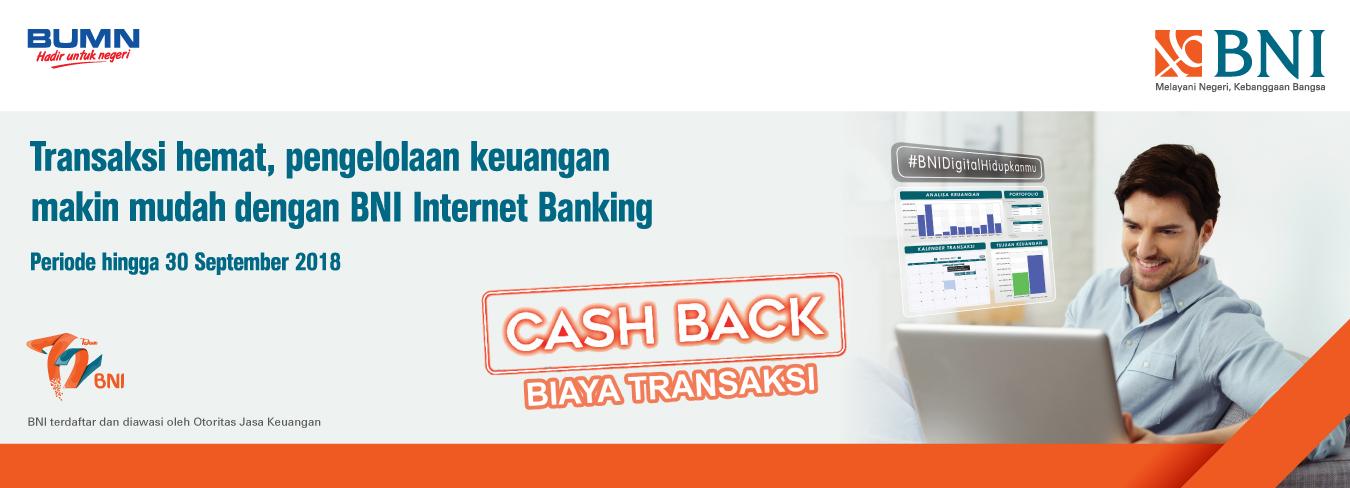 Transaksi Hemat, Pengelolaan Keuangan Makin Mudah dengan BNI Internet Banking