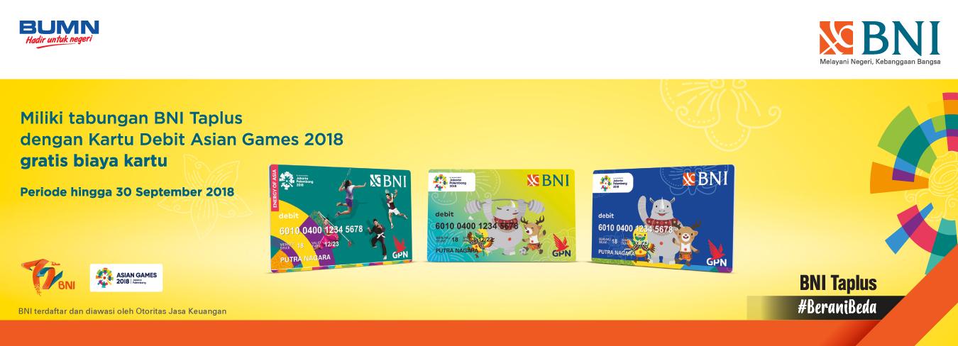 Kartu Debit Asian Games