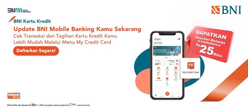 Update Bni Mobile Banking Kamu Sekarang Pengumuman Bni Credit Card