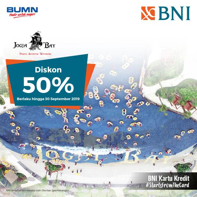 Diskon 50% di Jogja Bay
