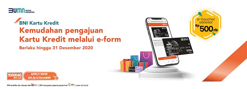 Apply Kartu Kredit Bni Melalui Online Sekarang Semakin Mudah Credit Card Info Bni Credit Card