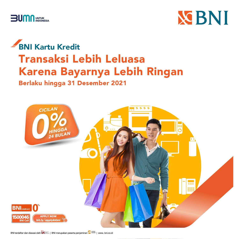 Promosi Bni Credit Card Promo kartu kredit bni 2021