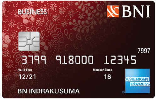 Kartu Kredit BNI American Express Business Card